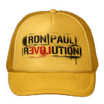RON PAUL REVOLUTION STENCIL GRAFFITI HAT! CAP