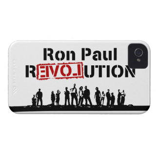 Ron Paul rEVOLution with Supporters Case-Mate iPhone 4 Cases