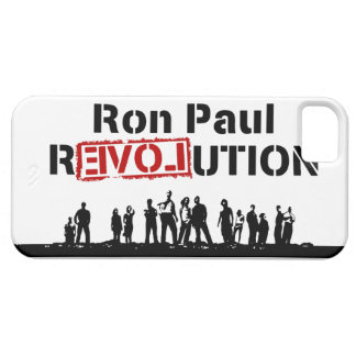 Ron Paul rEVOLution with Supporters iPhone 5 Case