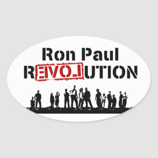 Ron Paul rEVOLution with Supporters Sticker