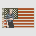 Ron Paul Rolling Up Sleeves Sticker Set