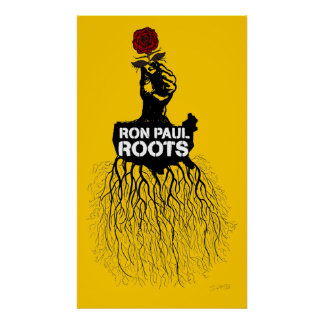 Ron Paul Roots Print