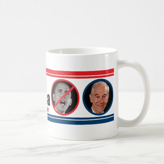 Ron Paul: THE ONE Who Can Beat Obama Coffee Mug