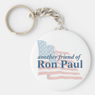 Ron Paul Things Basic Round Button Key Ring