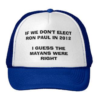 rON pAUL vS tHE mAYAN cALENDAR Trucker Hats