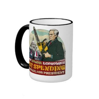 Ron Paul vs Zombie Economics Your Mug