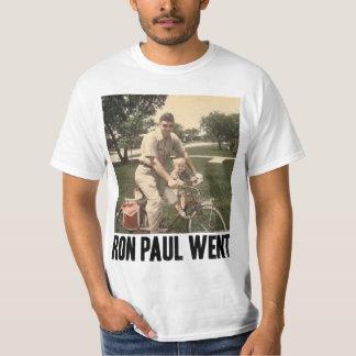 Ron Paul Went T-Shirt