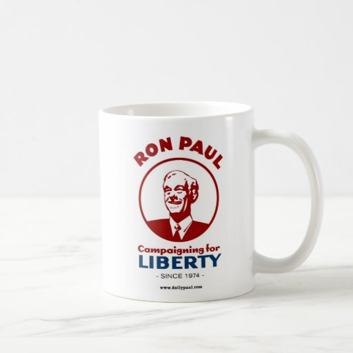 Ron Paul's Campaign for Liberty! Basic White Mug