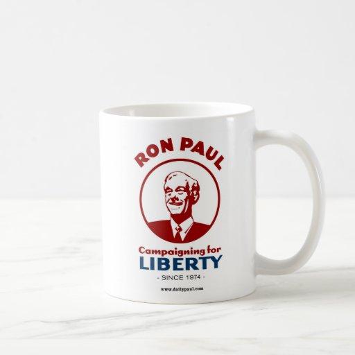 Ron Paul's Campaign for Liberty! Basic White Mug