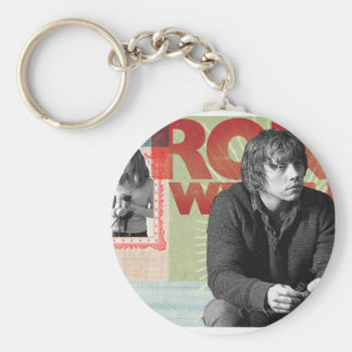 Ron Weasley 4 Basic Round Button Key Ring