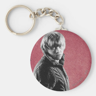 Ron Weasley 5 Basic Round Button Key Ring