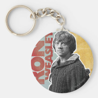 Ron Weasley 7 Basic Round Button Key Ring