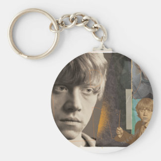 Ron Weasley 8 Basic Round Button Key Ring