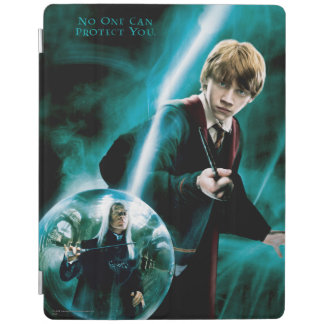 Ron Weasley and Lucius Malfoy iPad Cover