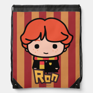 Ron Weasley Cartoon Character Art Drawstring Bag