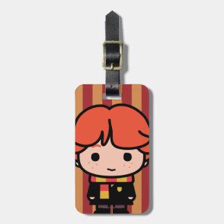 Ron Weasley Cartoon Character Art Luggage Tag