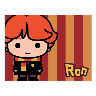 Ron Weasley Cartoon Character Art Postcard