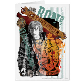 Ron Weasley Collage 1 Card