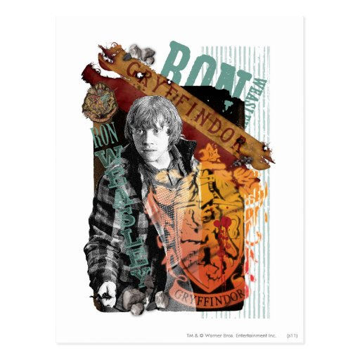 Ron Weasley Collage 1 Post Card