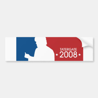 "Ron White ""TaterGate 2008""  sports logo sticker Bumper Sticker"