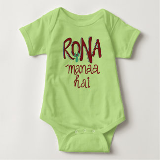 Rona Manaa Hai (Crying is not allowed) Baby Bodysuit