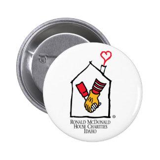 Ronald McDonald Hands 6 Cm Round Badge