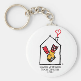 Ronald McDonald Hands Basic Round Button Key Ring