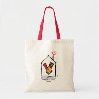 Ronald McDonald Hands Budget Tote Bag