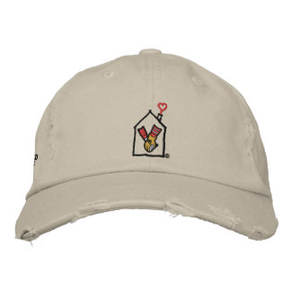 Ronald McDonald Hands Embroidered Baseball Caps