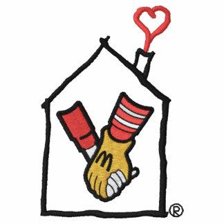 Ronald McDonald Hands Embroidered Shirts