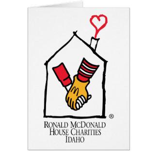 Ronald McDonald Hands Greeting Card