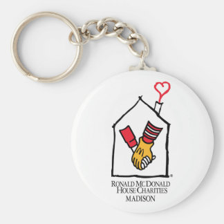 Ronald McDonald Hands Key Ring