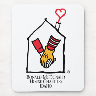 Ronald McDonald Hands Mouse Mat