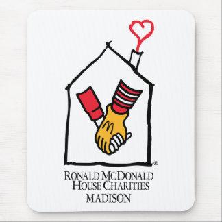 Ronald McDonald Hands Mouse Pad