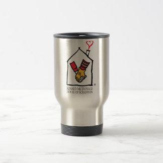 Ronald McDonald Hands Travel Mug