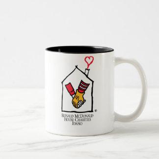 Ronald McDonald Hands Two-Tone Mug