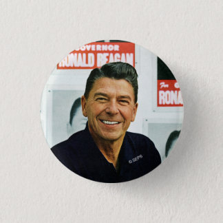 Ronald Reagan 3 Cm Round Badge