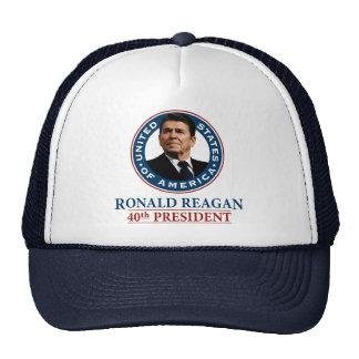 Ronald Reagan 40th President Trucker Hat