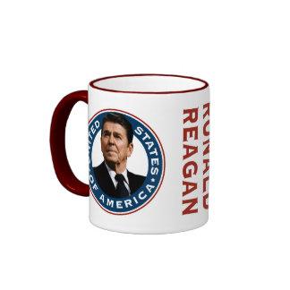 Ronald Reagan 40th President Coffee Mugs