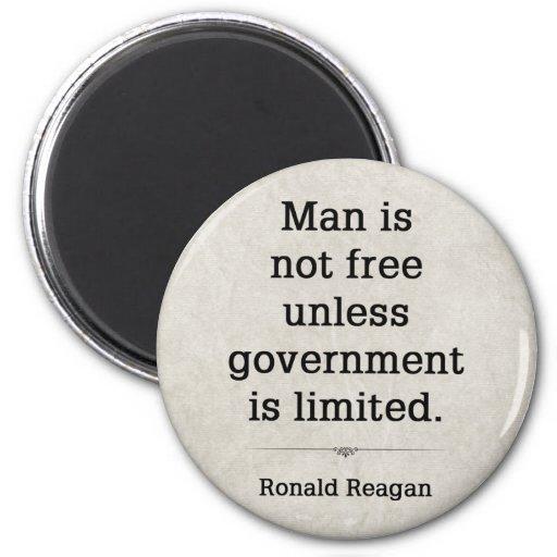 Ronald Reagan #4 6 Cm Round Magnet