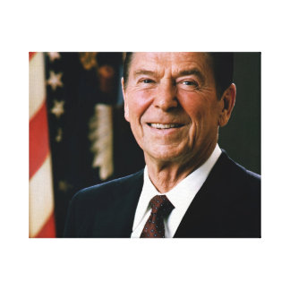 Ronald Reagan Stretched Canvas Prints