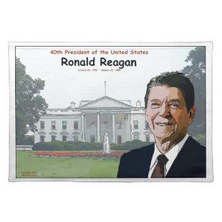 Ronald Reagan Cartoon Placemat
