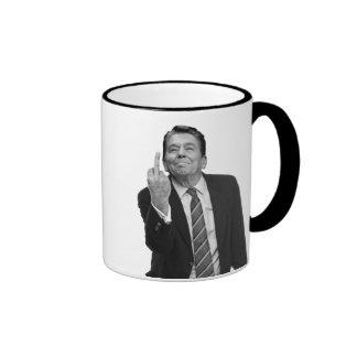 Ronald Reagan Middle Finger Mug