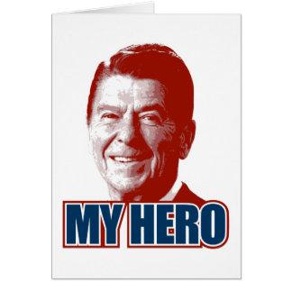 Ronald Reagan My Hero Greeting Card