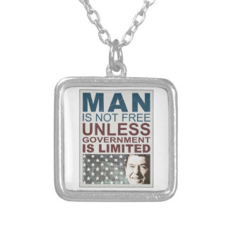 Ronald Reagan Personalized Necklace