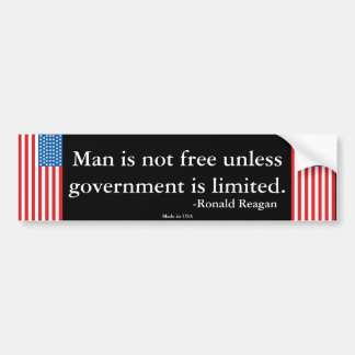 Ronald Reagan Quote Bumper Sticker