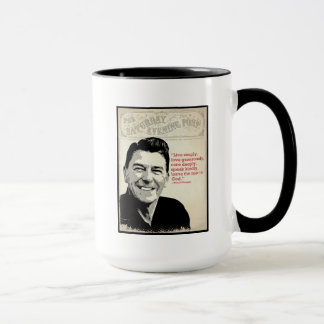 Ronald Reagan Quote Mug