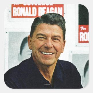 Ronald Reagan Square Sticker