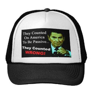 Ronald Reagan: They Counted Wrong! Cap