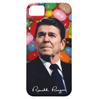 Ronald Reagan With Jelly Beans & Sig iPhone 5 Cases
